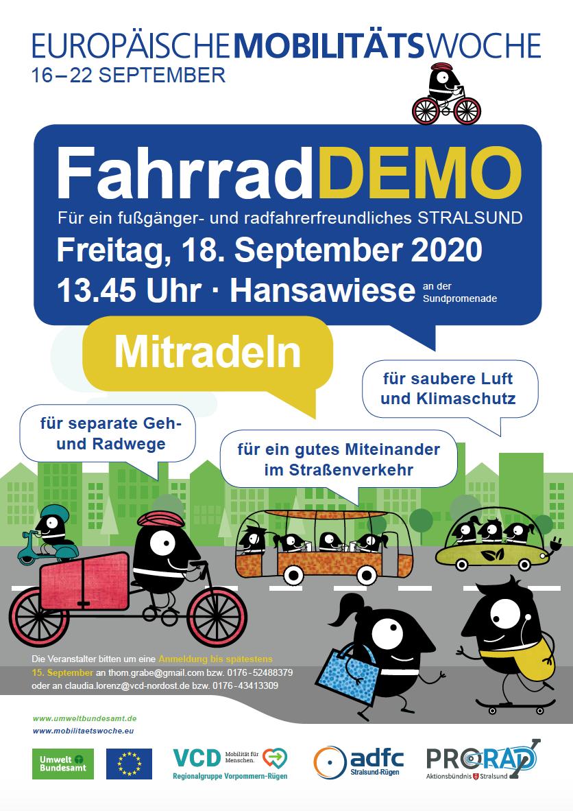 Demo In Stralsund